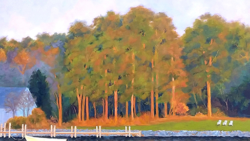 Oak Creek Glow By Kathy Kopec Thumbnail