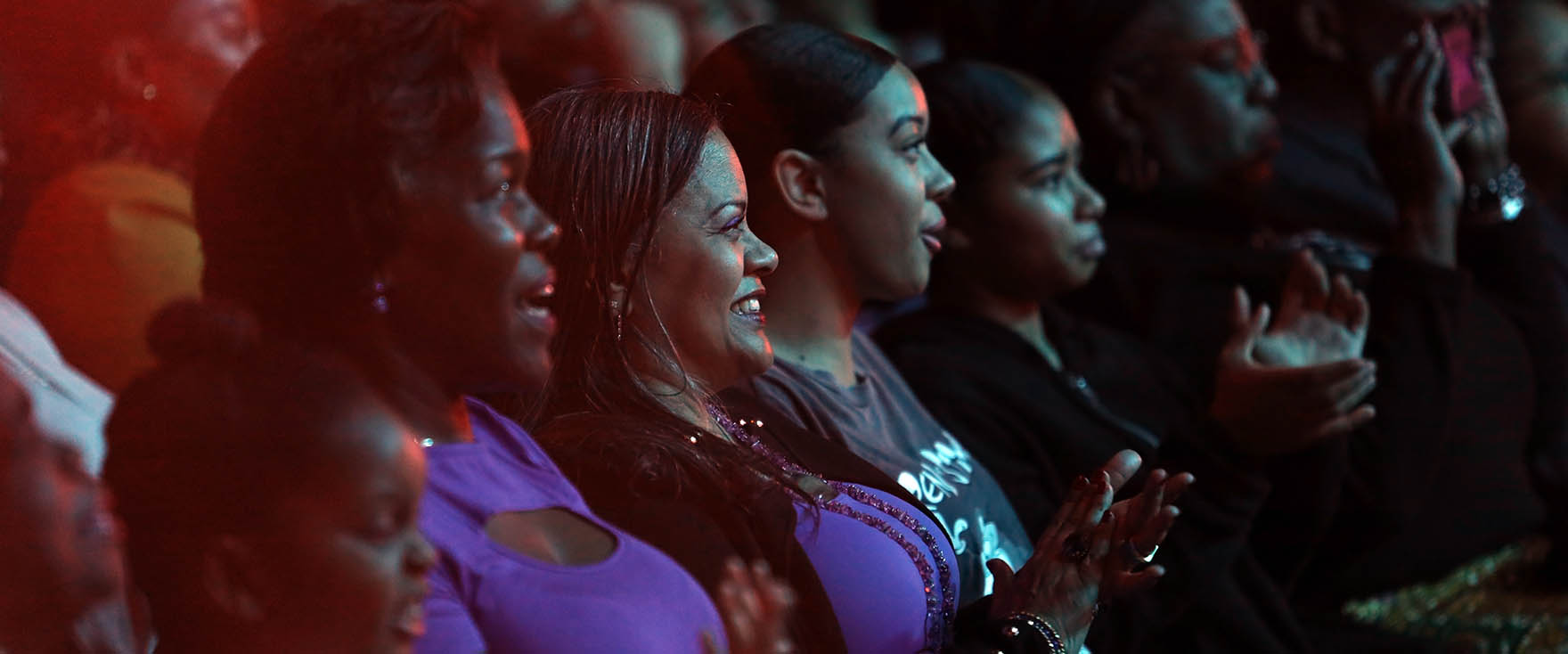 Audience Watching Step Afrika At Strathmore