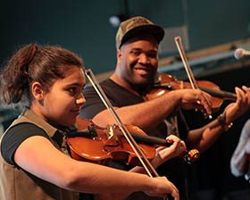 Black Violin Workshop At Strathmore